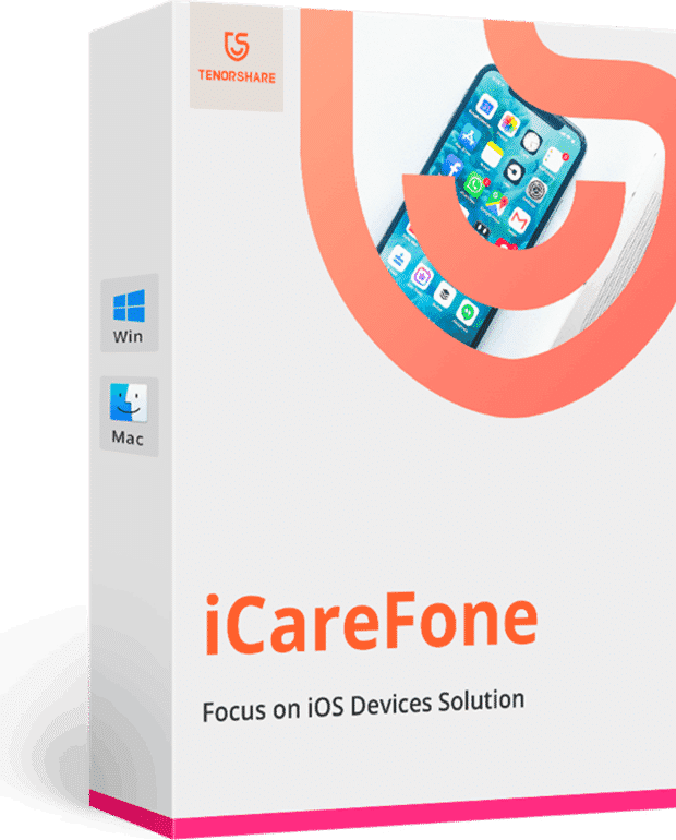 Tenorshare Icarefone V6.0.8.4 Best For Windows Ios File Manager Software