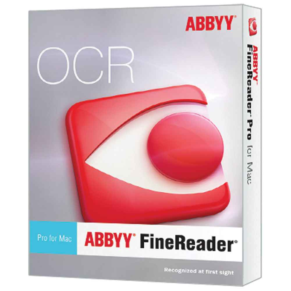 ABBYY FineReader OCR Pro for macOS