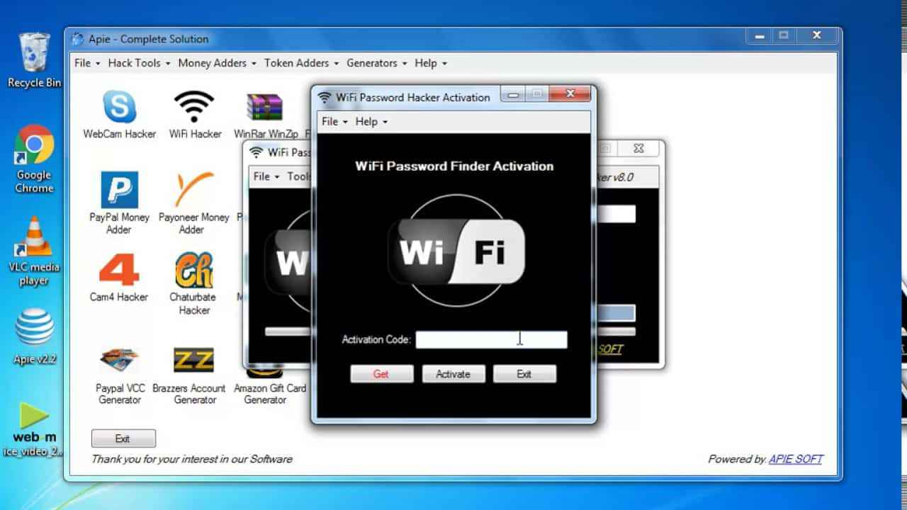 APieSoft Software Complete Soltuion with WiFi Hacker