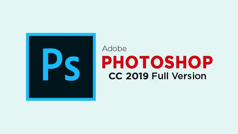Adobe Photoshop CC 2019 For Windows Cover