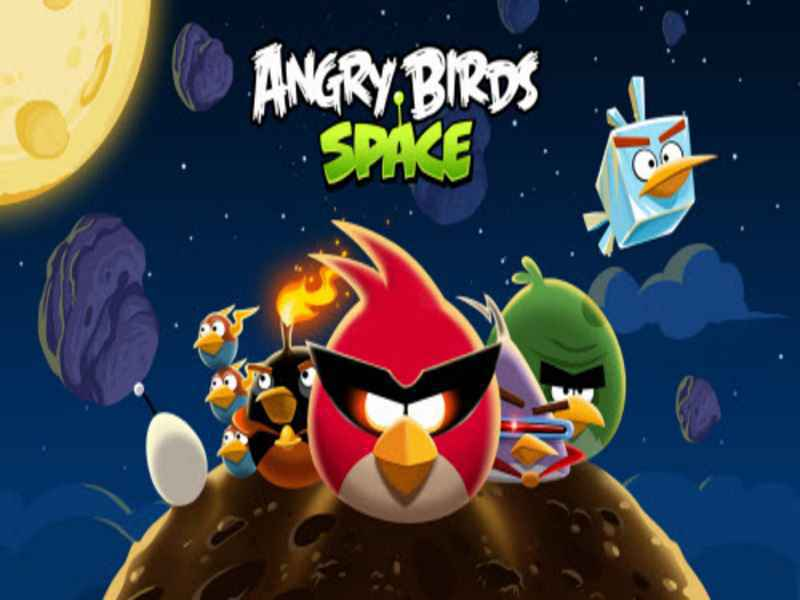 Angry Birds Space PC Game Setup Download For windows