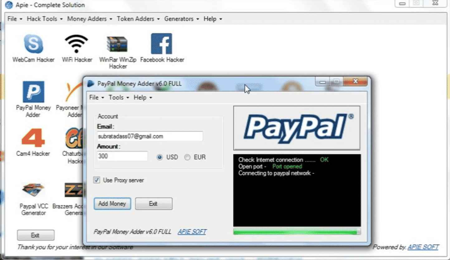 Paypal Money Adder V10 0 Activation Code Free