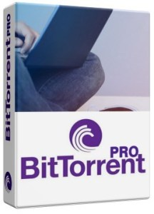 This is a BitTorrent PRO Box Cover