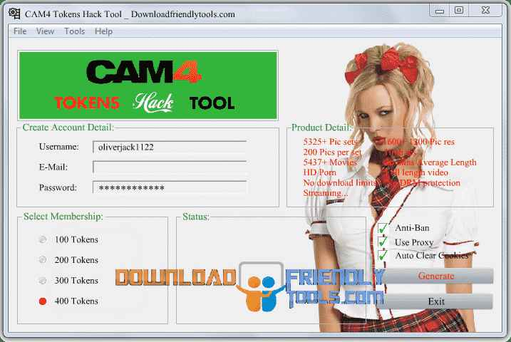 Cam hack generator Latest Version Free download