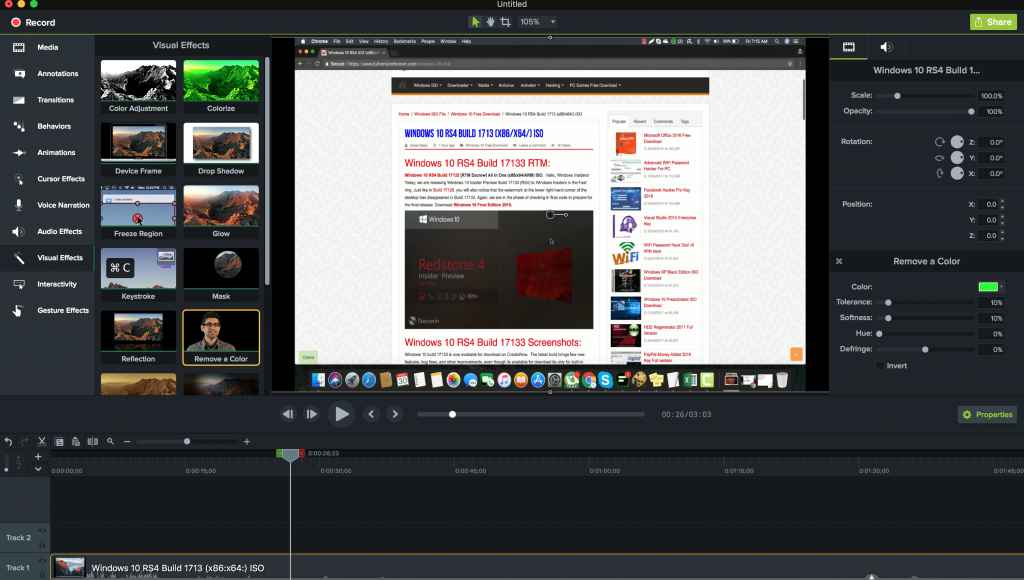 camtasia studio 8 mac free download