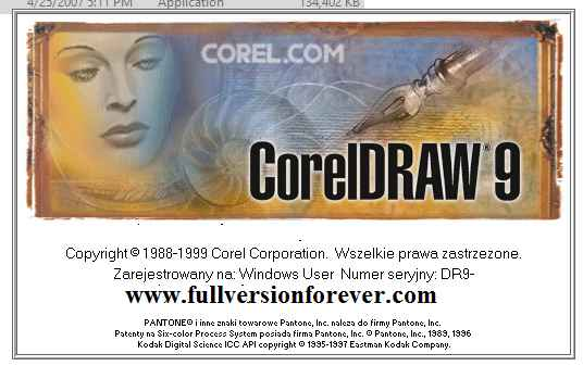 Corel Draw 9 Latest Version with Activation Key Free Download,