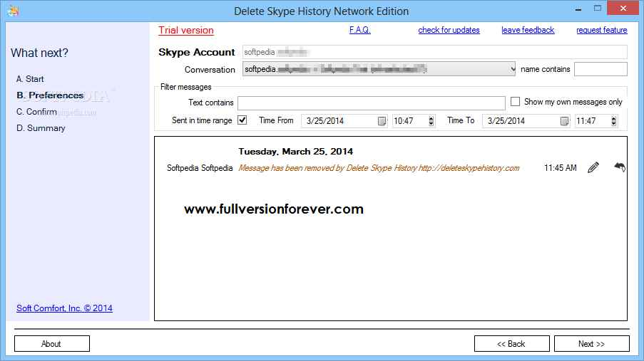 Delete Skype History v1 2 1 5 Network Edition Patch Full Version