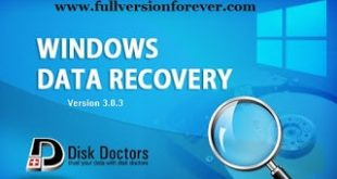 Disk Doctors Windows Data Recovery software for Windows
