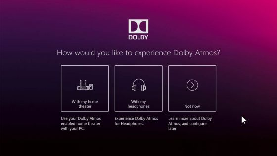 download dolby for windows 10