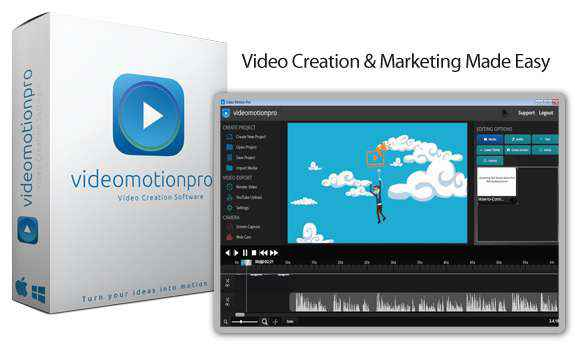 Video Motion Pro Video maker Software For Windows