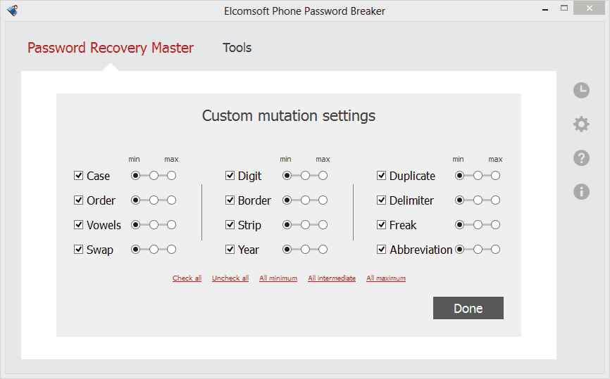 Elcomsoft Phone password breaker full version Free Download