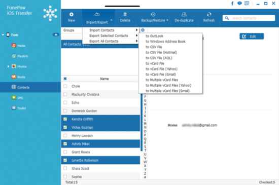 forepaw-ios-transfer-software-import-and-export-contacts