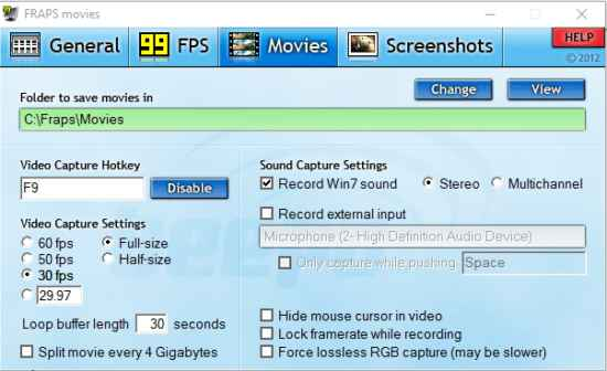 fraps full version cracked Free Download For Windows