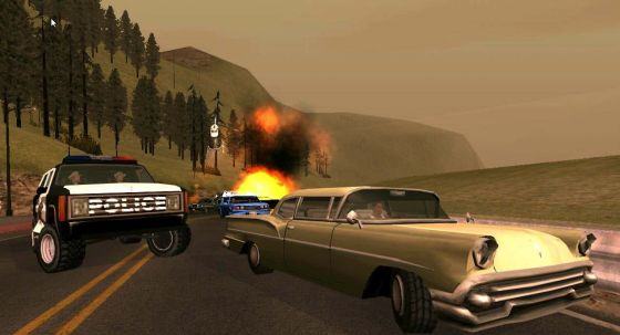'Grand Theft Auto: San Andreas' Cheats for PC and Mac