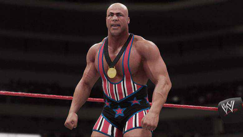 Kurt-angle-in-WWE-2k19-Game Latest Version Working