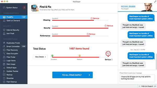 Mackeeper-find-fix with this software