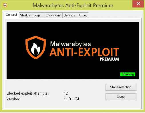 Malwarebytes Anti Exploit Premium Free download
