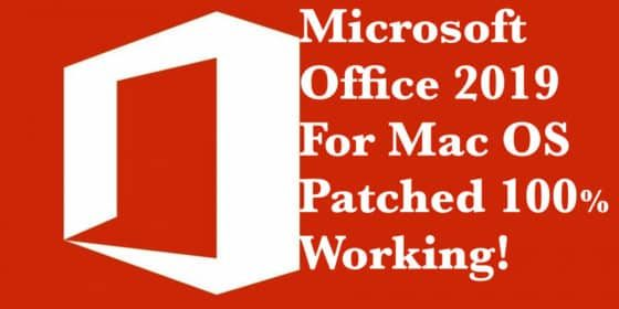 Microsoft Office 2019 for Mac Latest Version Free Download