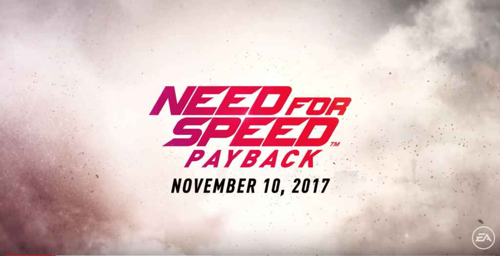 Need For Speed Payback PC Game Highly Compressed Full Version