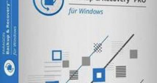 This is a box cover of Paragon Backup & Recovery professional software supported (x64/x86/WinPE)