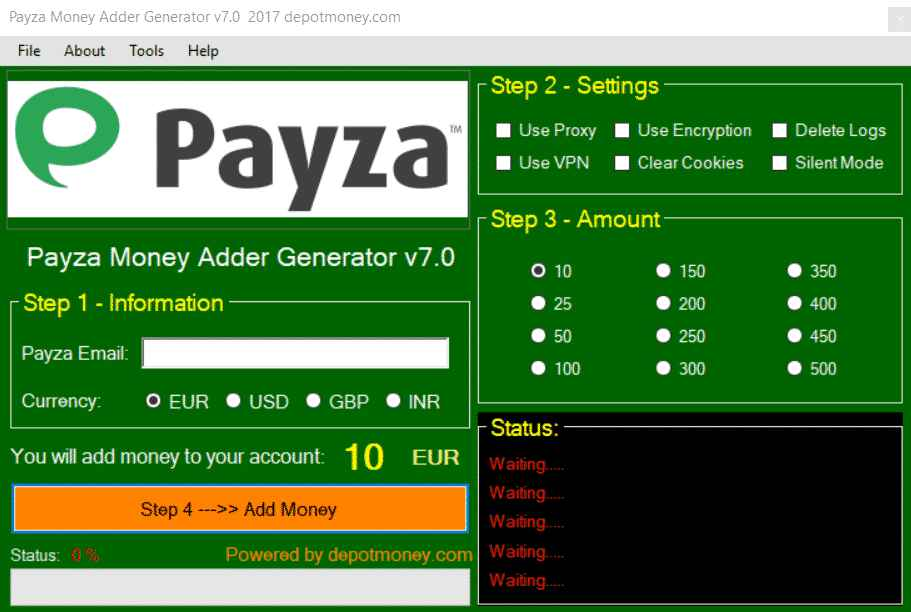 Payza money Adder Latest Version Free Download