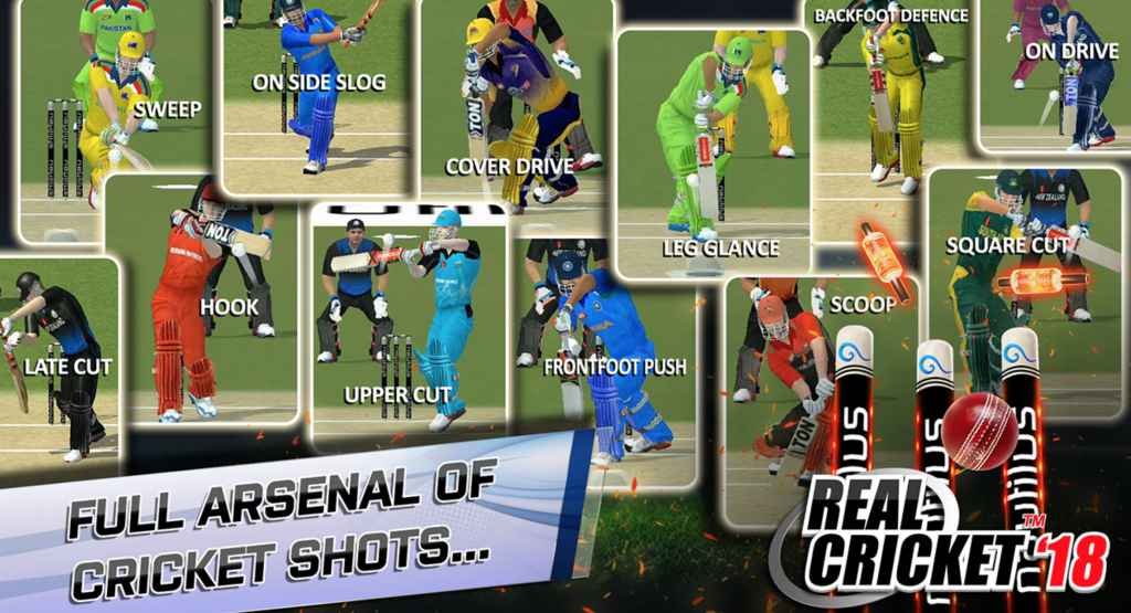 Real Cricket 18 Apk