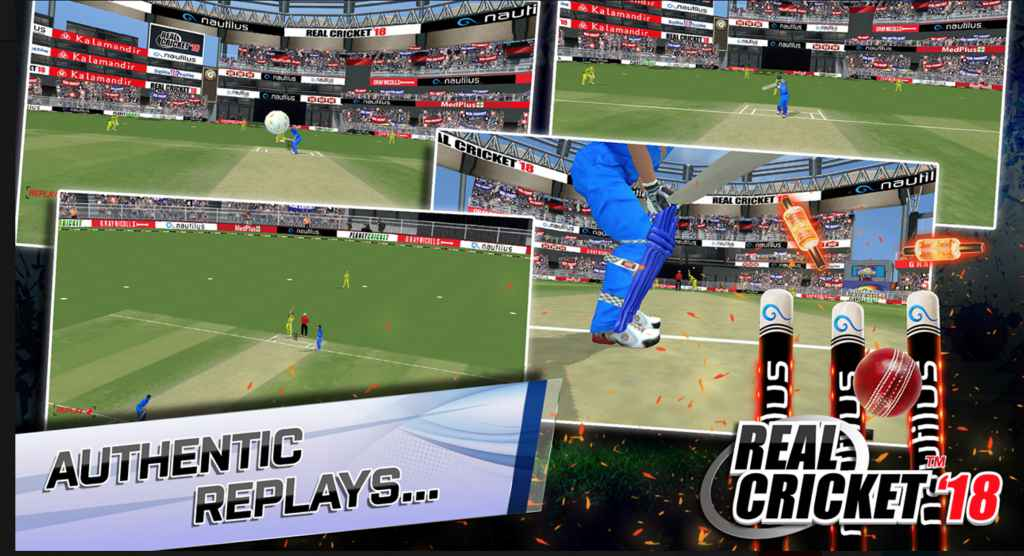 Real Cricket 18 Apk mod download