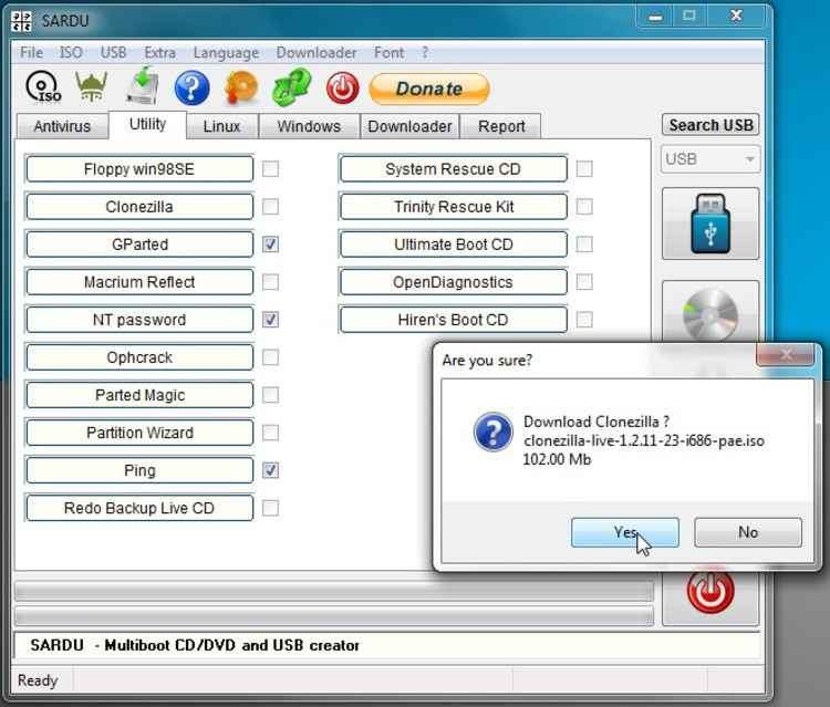 Sardu-MultiBoot-USB-Creator Free Download Latest Version