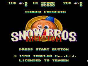 Snow Bros 1 game for PC Free download