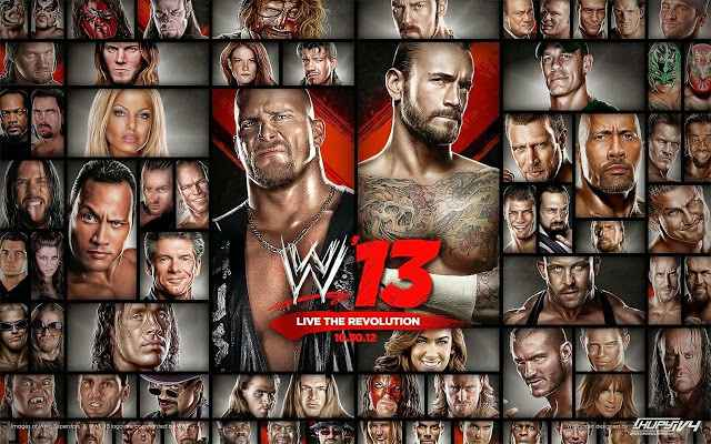 WWE 13 Game Setup For PC Latest Version