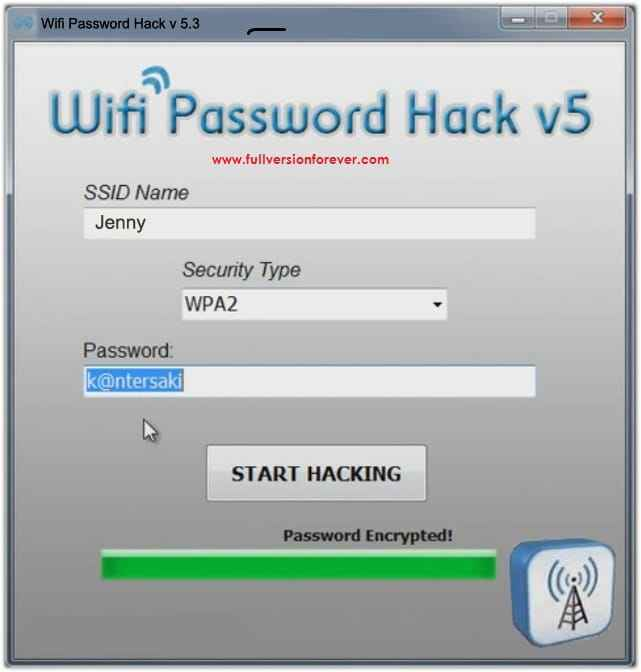 wifi pasword hack v5