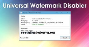 Windows 10 Technical Preview Watermark Remover
