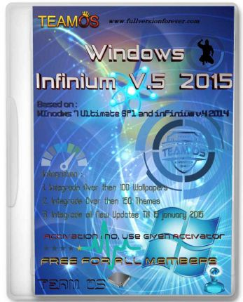 Windows 7 Infinium Final 2019 Bootable ISO Activated Free Download