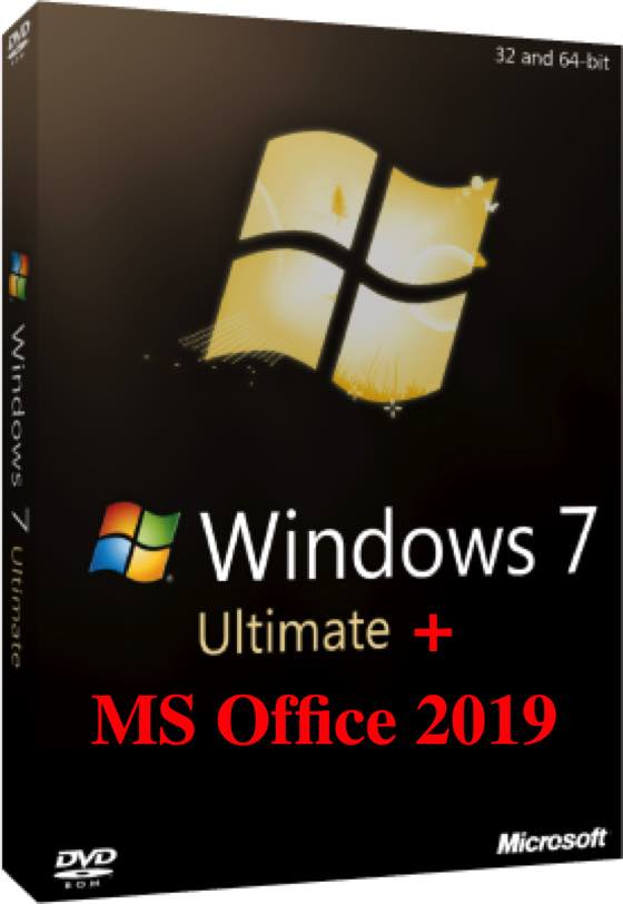 Windows 7 SP1 Ultimate + Office 2019 Free Download