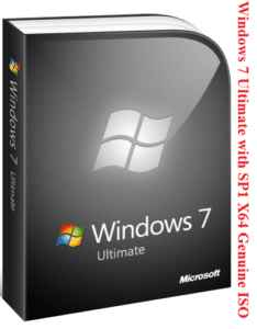 Windows 7 Ultimate SP1 Bootable ISO File