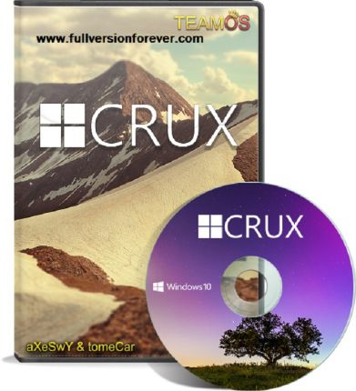 Windows 10 Crux Edition 2019 Bootable ISO Highly Compressed