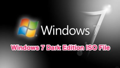 Windows 7 Dark Edition Final Bootable ISO Activated Free Download