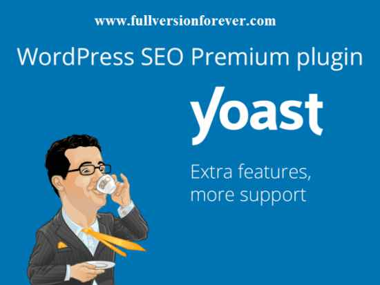 Yoast SEO Premium activated with cracked