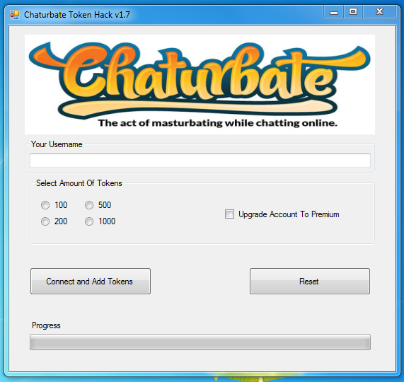 Chaturbate Tokens Generator 2020 v2.03 Free Live Video Cam and Chat Software