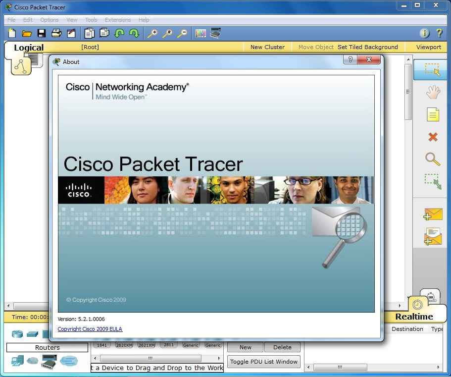 Cisco packet tracer for windows Free Download