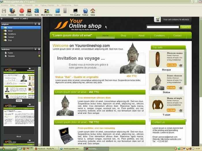 free-ecommerce-website-templates-working