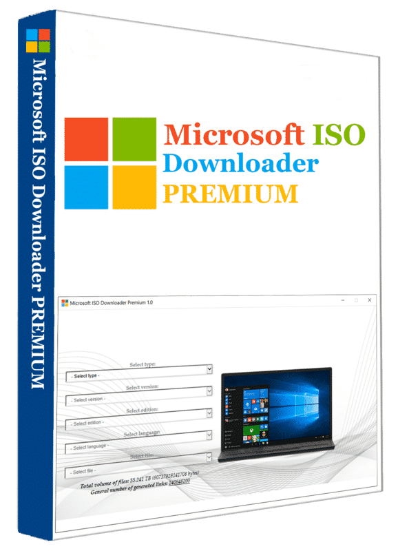 Microsoft ISO Downloader Premium 2020 v1.9 Windows and MS Office ISO Files Downloader