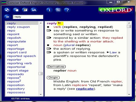 Concise Oxford English Dictionary with crack