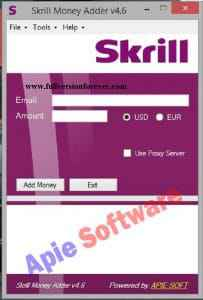 Skrill Money Adder