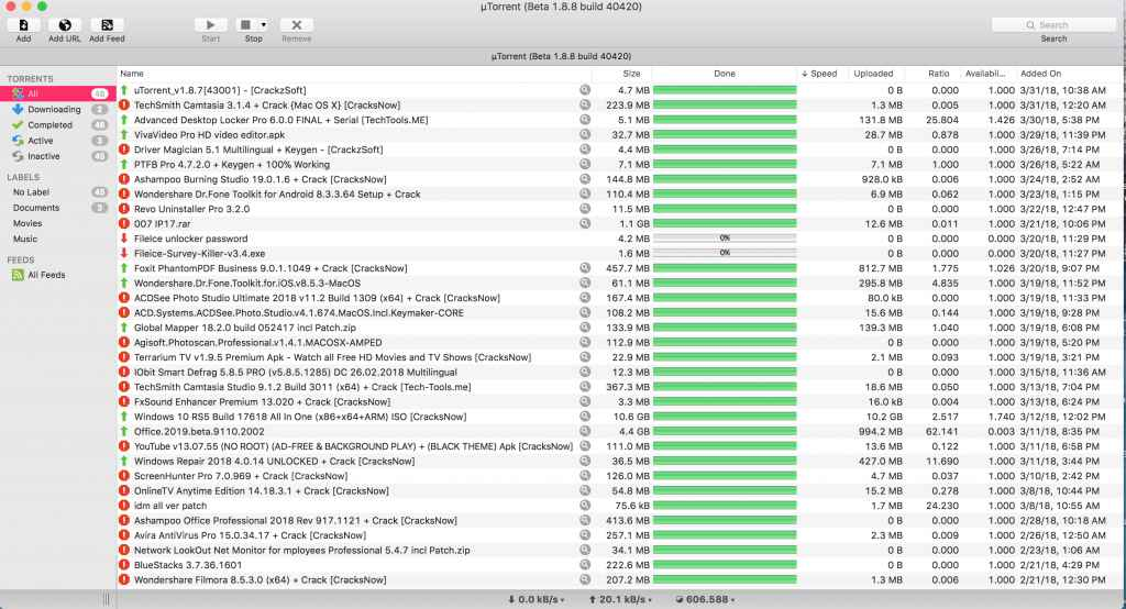 utorrent pro mac crack Archives