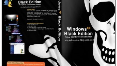 Windows XP Professional Black Edition SP3 Final ISO File Setup